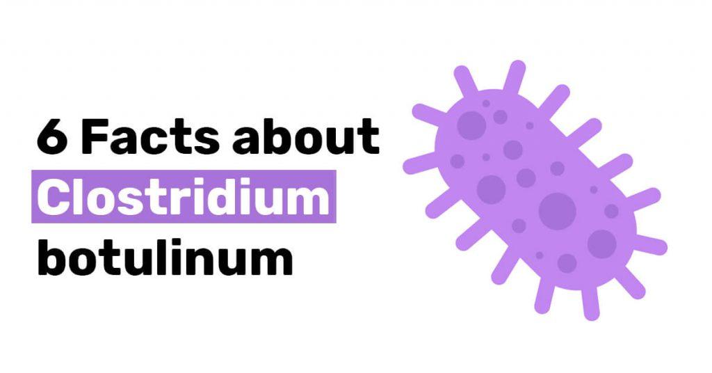 6 Facts about Clostridium botulinum