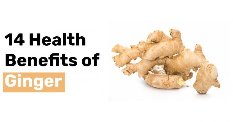14 Health Benefits of Ginger