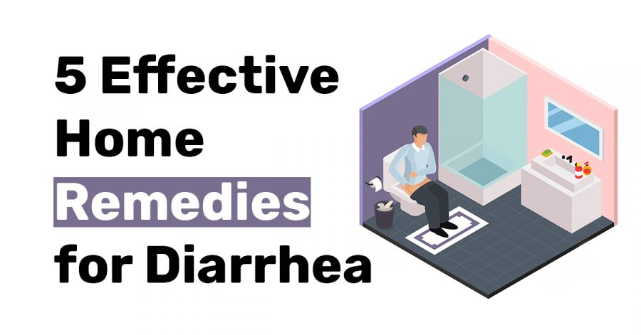 5 Effective Home remedies for diarrhea