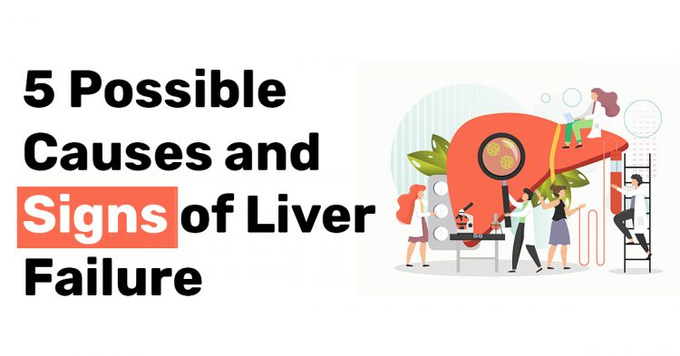 5 Possible Causes and Signs of Liver Failure