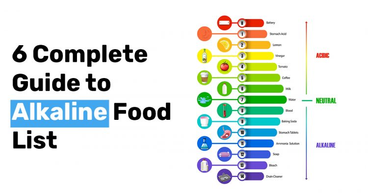 6 Complete Guide to Alkaline Food List