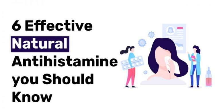 6 Effective Natural Antihistamine you Should Know