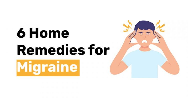 6 Home Remedies for Migraine 1