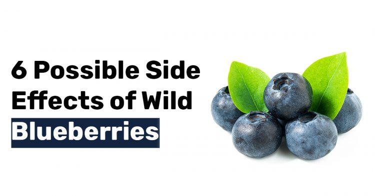 6 Possible Side Effects of Wild Blueberries