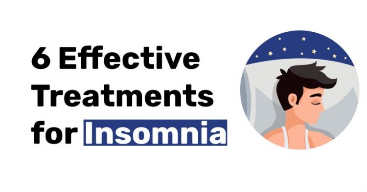 6 effective treatments for insomnia