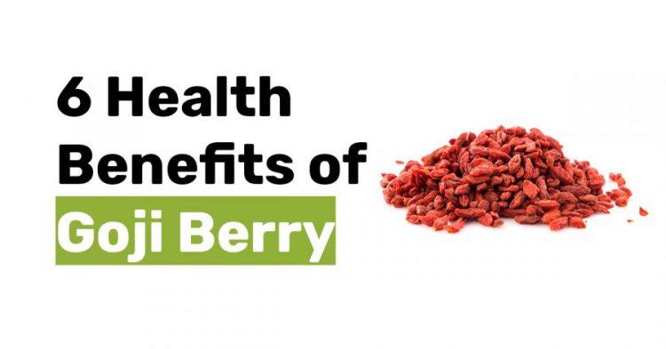 6 health benifits of goji berry 1