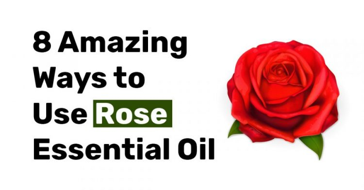 8 Amazing ways to use rose essential oil