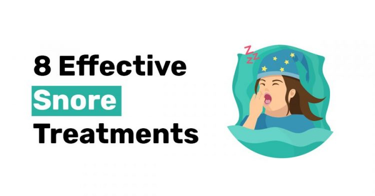 8 Effective Snore Treatments 1