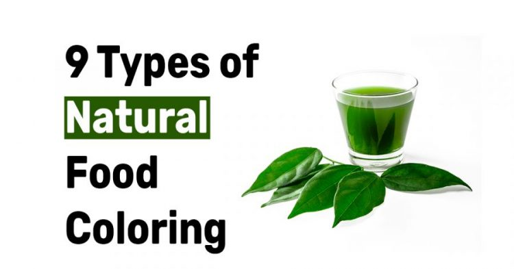 9 Types of Natural Food Coloring